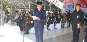 Wali Kota GSVL Irup Upacara Harkitnas ke-111 Pemkot Manado