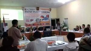 KPU Minahasa Plenokan Hasil Pemilu 2019 Selama Tiga Hari