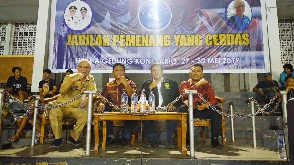 Kejuaraan Tinju 'Wali Kota Manado Cup II' Resmi Dibuka, GSVL Harap Muncul Atlet Berkualitas