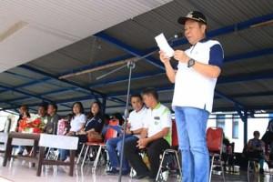 Lomban Hadiri Peringatan Hari Buruh Internasional