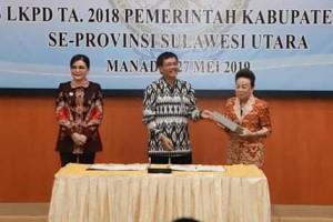 Pemkab Minsel Berhasil Raih WTP di Tahun 20191