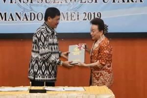 Pemkab Minsel Berhasil Raih WTP di Tahun 20192