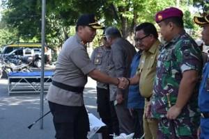 Pemkot Bitung Dukung Penuh Operasi Ketupat Samrat 2019