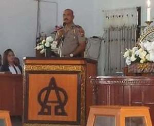 Polsek Kawangkoan Giatkan Patroli Cipta Kondisi dan Patroli Miras