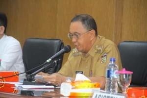 ROR Buka Rakor Tim Pengendali Inflasi Daerah