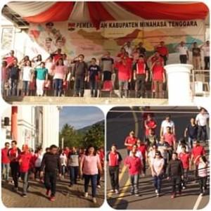Drs. Robby Ngongoloy,HUT Kabupaten Minahasa Tenggara