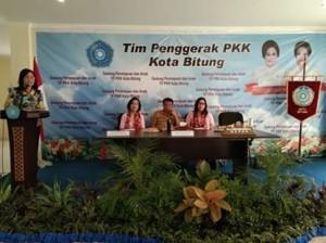Sekretaris Kota Bitung, Yoke Senduk , Lomba HKG PKK Provinsi Sulut