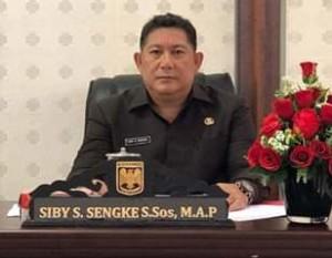 Sengke Resmi Jabat Sekwan DPRD Minahasa.