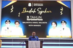 Tiga Tahun Pimpin Kota Manado, GSVL-Mor Torehkan Berbagai Prestasi dan Perubahan Positif