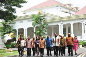 Sulut Tuan Rumah Konferensi Gereja dan Masyarakat, Gubernur Olly dan Ketu PGI Temui Presiden Jokowi