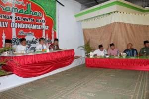 Safari Ramadhan, Robby Dondokambey , Olly Dondokambey ,  Masjid Baiturahman Langowan