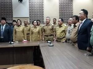 Wabup RD Hadiri Pelantikan Ketua BPKP Sulut