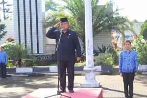 Wakil Bupati Minahasa Inspektur Upacara Harkitnas ke 111