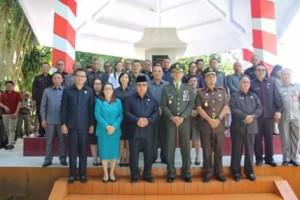 Wakil Bupati Minahasa Inspektur Upacara Harkitnas ke 1112