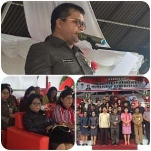 Drs Robby Ngongoloy, Hardiknas  Minahasa Tenggara