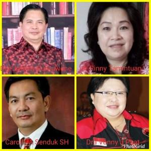 Balon Cawali-Cawawali PDIP Tomohon Mulai Muncul ke Permukaan