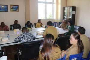 Kunjungan Pemerintah Kabupaten Pegunungan Bintang di Kota Tomohon