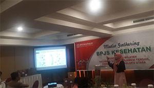 Jalin Silahturahmi, BPJS Kesehatan SuluttenggoMalut Gelar Media Gathering