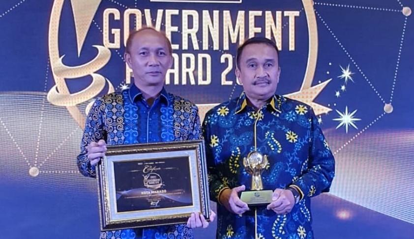Wali Kota GSVL Boyong Penghargaan Indonesia Creative Leader 2019