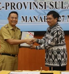 Jimmy Eman, Satu-Satunya Kepala Daerah Peraih 6 WTP di Sulut