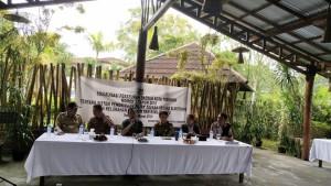 Erens Keeeh AMKL mensosialisaiskan Perda Nomor 1 Tahun 2018