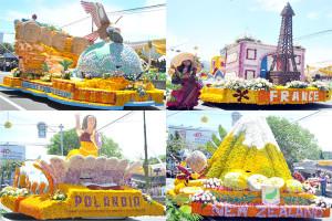 Float akan didominasi Bunga Krisan