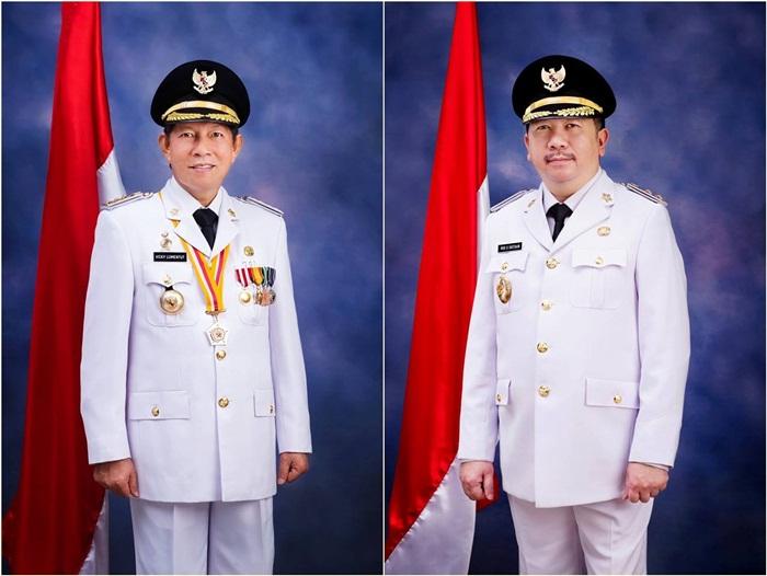 Wali Kota Manado G.S Vicky Lumentut dan Wakil Wali Kota Manado Mor Bastiaan,
