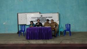 Sosialisasi Perda Bangunan Gedung di Rurukan dan Kumelembuai