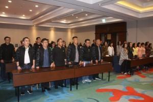 Peserta IHT  yang tediri dari para pejabat di lingkup Pemkot Tomohon