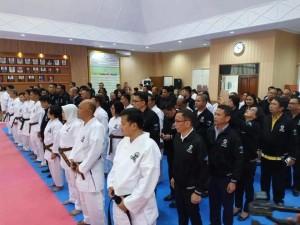 Pelantikan pengurus Karate-D0 9 daerah di Sulut