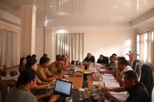 Rapat pembahasna lanjutan LKPJ