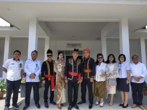 Wali Kota bersama jajaran pemkot Tomohon dan pimpinan RSUD Anugerah