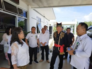 Peninjauan persiapan akreditasi RSUD Anugerah oleh Wali Kota Jimmy F Eman SE Ak CA