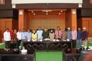 Kunjungan DPRD Kota Ternate di DPRD Kota Tomohon