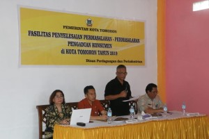 Asisten Perekonomian membuka kegiatan mewakili wali kota