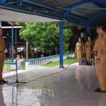 Apel Perdana, Lomban Ingatkan ASN Jangan Tunda Pekerjaan
