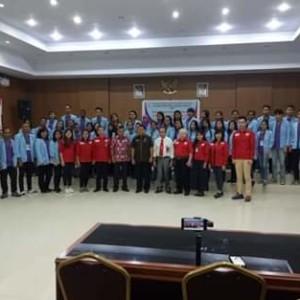 Bupati Minahasa Diwakili Asisten 1, Menerima Mahasiswa KKN Unsrit