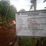 Desa Picuan Manfaatkan Dandes 2019 Tahap 1 Untuk Bangun Talud