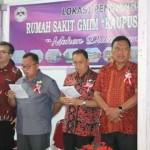 Gubernur Olly Bersama ROR-RD Letakkan Batu Pertama Pembangunan RS GMIM Kaupusan Langowan