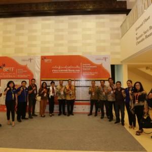 Wali kota dan jajaran di Press Conference Nusa Dua