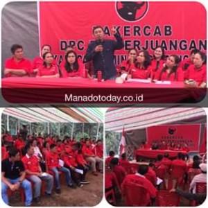 JS Masih Perkasa di Konfercab PDI-P Mitra, Sumendap Cs Solid Dukung OD Ketua DPD Dan Megawati Ketua Umum PDI-P