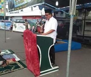 Mantiri Hadiri Sholat Idul Fitri 1 Syawal 1440 H di Kota Bitung4