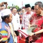 Di Acara Puncak BBGRM XVI Tingkat Provinsi Sulut, Olly Gelorakan Semangat Gotong Royong Masyarakat
