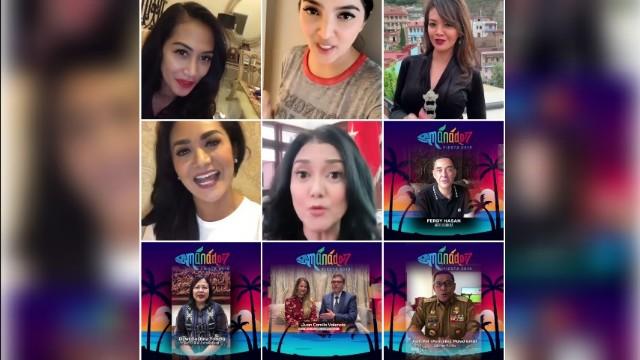 Artis Ibukota Ikut Promosikan Manado Fiesta 2019