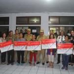ROR-RD Launching Bantuan Pangan Non Tunai Peralihan Rastra Tahap I