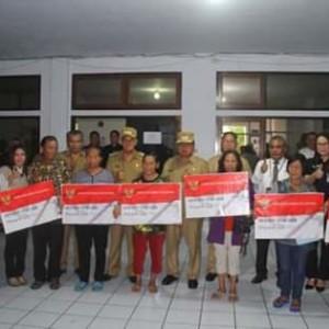 ROR-RD Launching Bantuan Pangan Non Tunai Peralihan dari Rastra ke Bantuan Pangan Non Tunai Tahap I.