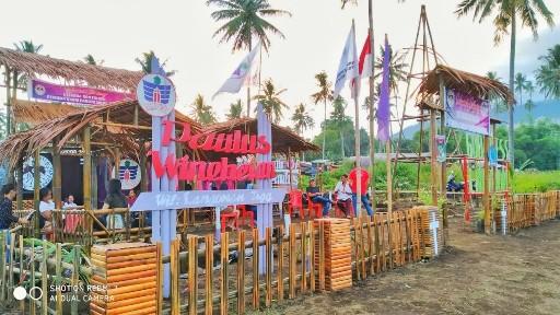 Berkonsep Back to Nature, Tenda PKPG Paulus Winebetan Ramai Dikunjungi