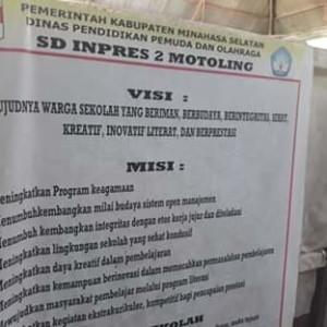SD Inpres 2 Motoling Terancam Tutup, Pengawasan Disdikpora Minsel Dipertanyakan