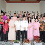 Idul Fitri 1440 Hijriah, Gubernur Olly dan Ibu Rita Silaturahmi ke Kediaman Megawati Soekarnoputri