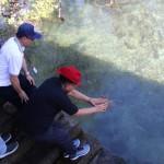 Peringatan Coral Triangle Day, Pemprov Sulut Lepas Lobster Bertelur di Pantai Bahowo